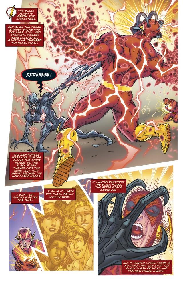 The Flash Wally West chính thức trở thành kẻ nhanh nhất ĐA VŨ TRỤ DC - Ảnh 3.