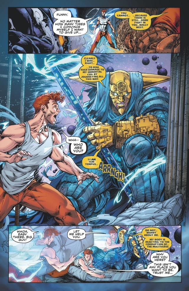 The Flash Wally West chính thức trở thành kẻ nhanh nhất ĐA VŨ TRỤ DC - Ảnh 8.