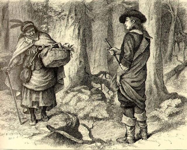 Thị trấn bị nguyền rủa Salem: Nguồn gốc của phù thủy và ma thuật hắc ám - Ảnh 1.