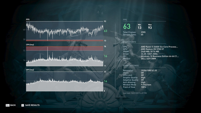 Gigabyte Radeon RX 5700 XT Gaming OC: chiếc card đồ họa có hiệu năng đầy hứa hẹn của AMD - Ảnh 6.
