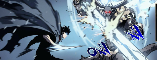 Solo Leveling chương 87: Sung Jin Woo hạ gục Vua Quỷ Baran, đột phá lên cấp độ 97 - Ảnh 4.