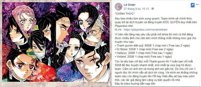 NXB Kim Đồng đưa quan điểm về việc dịch lậu thu tiền, kêu gọi fan hâm mộ nâng cao ý thức và mua manga có bản quyền - Ảnh 1.