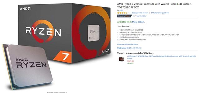 AMD lại khơi mào cuộc chiến về giá: Ryzen 7 2700X giảm giá tới 40%, tặng kèm cả bom tấn Borderlands 3 - Ảnh 2.