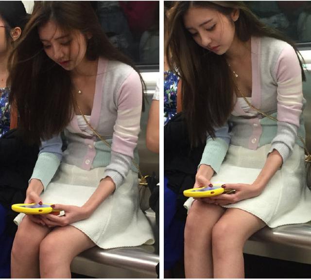 Vô tình gặp nữ thần trên tàu điện ngầm, truy tìm danh tính mới biết hóa ra người quen - Ảnh 2.