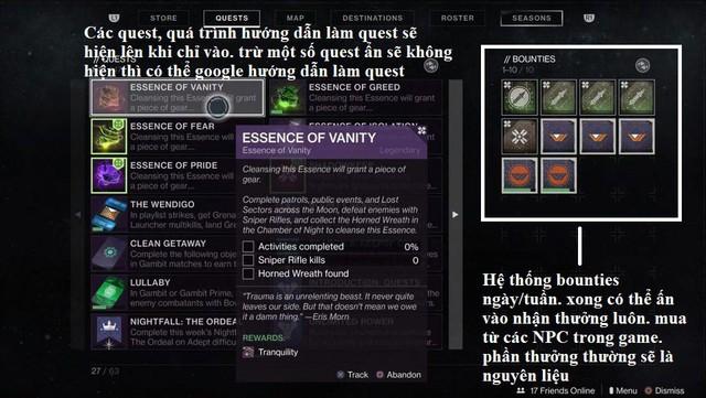 12 điều cần biết khi mới chơi Destiny 2, game miễn phí hot nhất trên Steam - Ảnh 4.