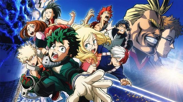 My Hero Academia xuất sắc giành giải manga hay nhất tại Harvey Awards - Ảnh 1.
