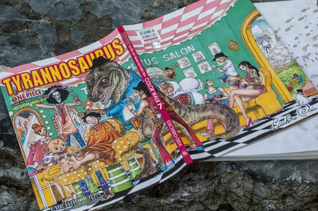Ra mắt siêu phẩm artbook One Piece Color Walk 7 – Tyrannosaurus: Cùng băng Mũ Rơm tiến vào Tân Thế Giới! - Ảnh 1.