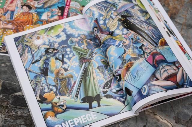 Ra mắt siêu phẩm artbook One Piece Color Walk 7 – Tyrannosaurus: Cùng băng Mũ Rơm tiến vào Tân Thế Giới! - Ảnh 2.