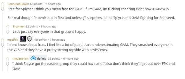 LMHT: Splyce rơi vào bảng của GAM Esports, game thủ quốc tế cho rằng đại diện Việt Nam nên ăn mừng - Ảnh 7.