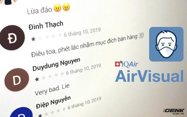 Giáo viên Vũ Khắc Ngọc lỡ đả kích AirVisual, HOCMAI hứng chịu hậu quả với bão 1* của cư dân mạng - Ảnh 1.