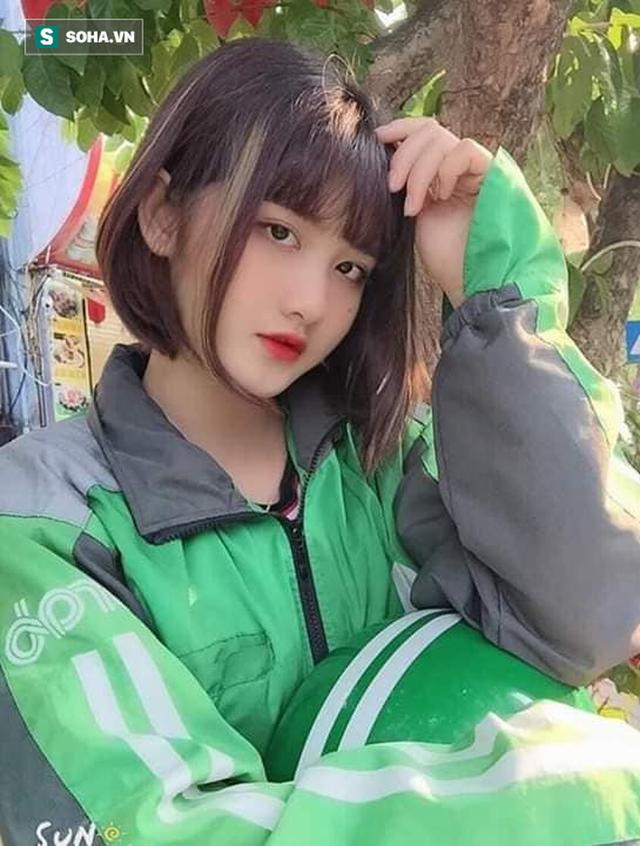 Nữ tài xế Grabbike 18 tuổi gây chú ý vì ngoại hình xinh đẹp, dễ thương - Ảnh 3.