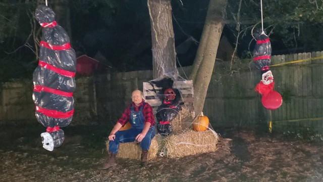 Dư luận tranh cãi về những màn trang trí Halloween khiếp đảm: Thú vị hay đáng dẹp bỏ? - Ảnh 6.
