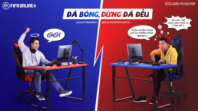 Độ Mixi và Vodka Quang thi nhau tấu hài trong bộ ảnh mới của FIFA Online 4 - Ảnh 2.
