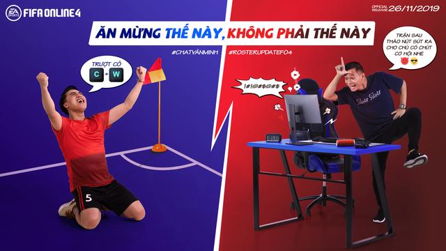 Độ Mixi và Vodka Quang thi nhau tấu hài trong bộ ảnh mới của FIFA Online 4 - Ảnh 5.