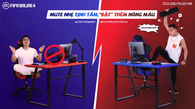 Độ Mixi và Vodka Quang thi nhau tấu hài trong bộ ảnh mới của FIFA Online 4 - Ảnh 7.