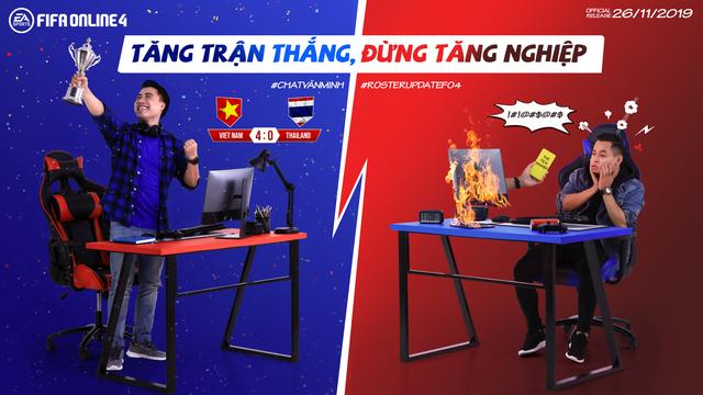 Độ Mixi và Vodka Quang thi nhau tấu hài trong bộ ảnh mới của FIFA Online 4 - Ảnh 8.