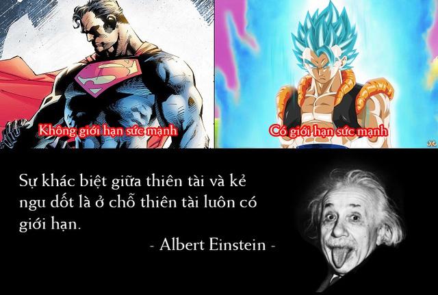 Giải trí với loạt meme vui về cuộc chiến không cân sức giữa Goku và Superman - Ảnh 2.
