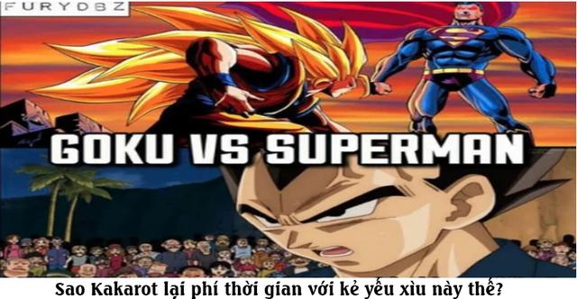 Giải trí với loạt meme vui về cuộc chiến không cân sức giữa Goku và Superman - Ảnh 8.