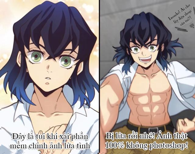 Không thể nhịn cười với loạt meme siêu lầy về anh chàng đầu heo Inosuke trong Kimetsu no Yaiba - Ảnh 5.