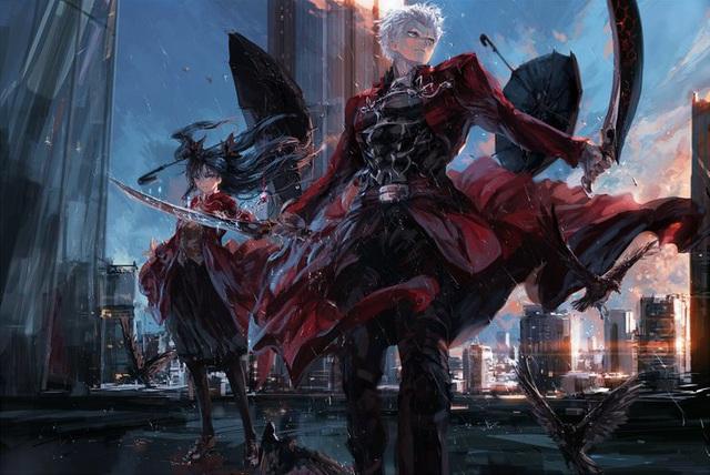 Series Fate và loạt fan art siêu lung linh về các nhân vật và sự kiện liên quan - Ảnh 10.