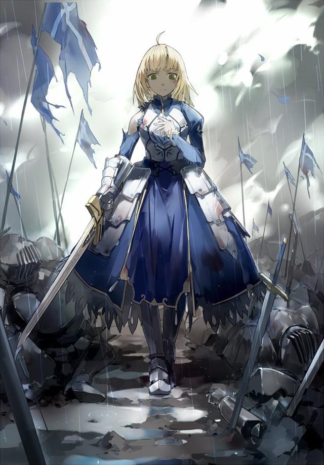 Series Fate và loạt fan art siêu lung linh về các nhân vật và sự kiện liên quan - Ảnh 1.