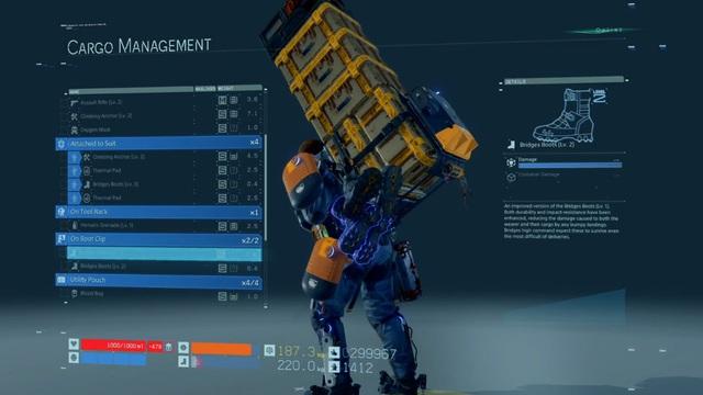 Sáu bí kíp để trở thành một Shipper bền bỉ trong Death Stranding - Ảnh 2.