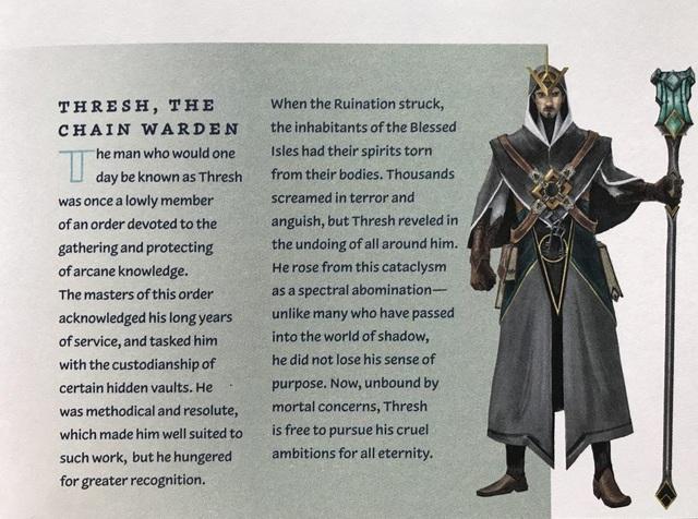 LMHT: Ấp ủ thực hiện vũ trụ LMHT, Riot Games ra mắt Bách Khoa Toàn Thư tiết lộ mặt thật của Thresh - Ảnh 4.