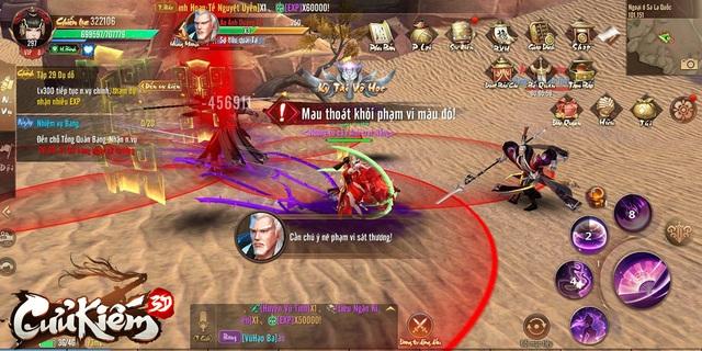 Cửu Kiếm 3D: Bí thuật ép cấp để nhận 200% exp FULL hoạt động, dồn 1 phát có thể hơn Top 1 cả chục level! - Ảnh 1.