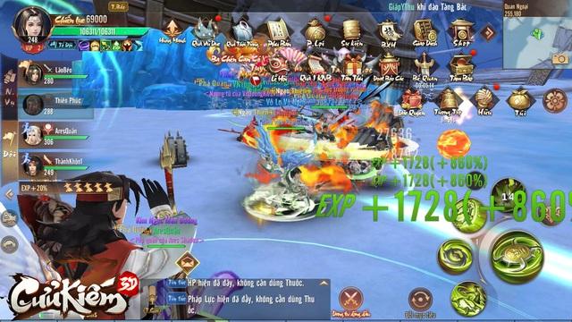Cửu Kiếm 3D: Bí thuật ép cấp để nhận 200% exp FULL hoạt động, dồn 1 phát có thể hơn Top 1 cả chục level! - Ảnh 2.