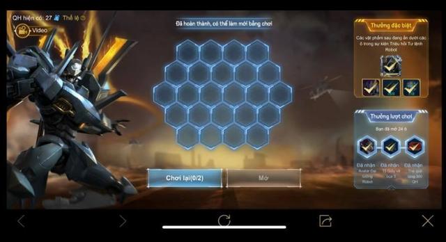 Liên Quân Mobile: Garena bonus 3 tướng/skin cho người nạp 800 nghìn quay Lữ Bố Robot - Ảnh 2.