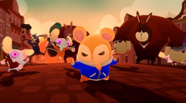 Hamsterdam - Game ngộ nghĩnh cho người đam mê Kungfu - Ảnh 1.