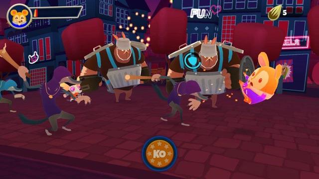 Hamsterdam - Game ngộ nghĩnh cho người đam mê Kungfu - Ảnh 4.