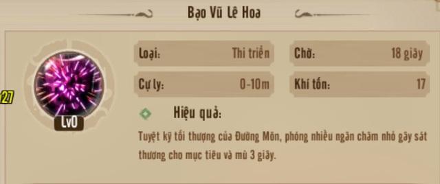 Bí kíp độc bá thiên hạ cùng môn phái Đường Môn: Từ tân thủ trở thành sát thủ - Ảnh 8.