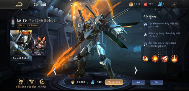 Liên Quân Mobile: Không cần nạp thẻ, game thủ vẫn nhận FREE Lữ Bố Tư Lệnh Robot siêu dễ - Ảnh 4.