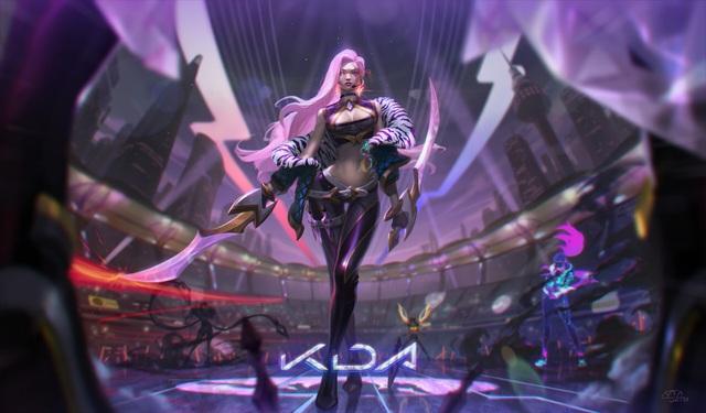 LMHT: Chiêm ngưỡng trang phục Katarina K/DA Hàng Hiệu tuyệt đẹp do fan thiết kế - Ảnh 1.