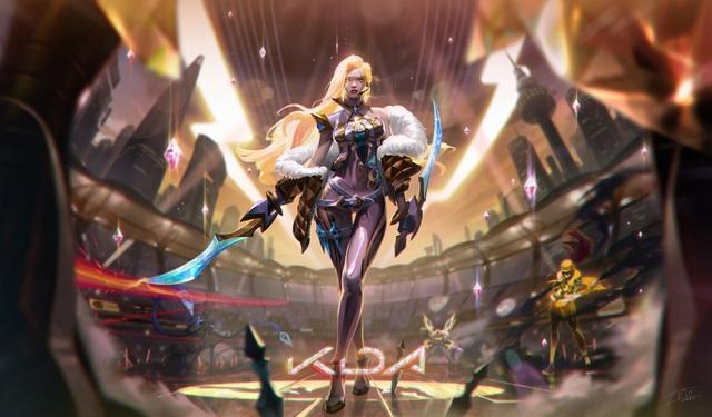 LMHT: Chiêm ngưỡng trang phục Katarina K/DA Hàng Hiệu tuyệt đẹp do fan thiết kế - Ảnh 3.
