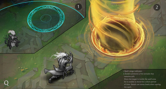 LMHT: Ngỡ ngàng với tạo hình siêu ngầu lòi của Seneh Quỷ Lửa trong Liên Minh Huyền Thoại - Ảnh 6.