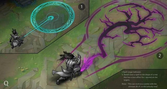 LMHT: Ngỡ ngàng với tạo hình siêu ngầu lòi của Seneh Quỷ Lửa trong Liên Minh Huyền Thoại - Ảnh 7.