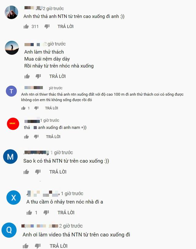 NTN lại làm clip ném nút vàng Youtube từ trên cao, cộng đồng mạng hỏi bao giờ thì làm video Ném NTN từ trên cao xuống - Ảnh 8.