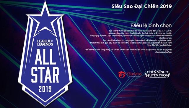 Cổng bình chọn All-Star Việt Nam chính thức mở cửa, Artifact, Levi và Zeros cạnh tranh ngôi vị dẫn đầu - Ảnh 1.