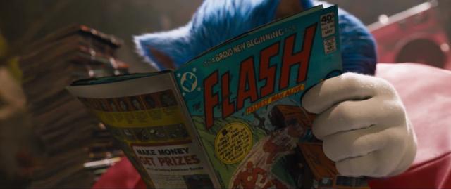 Có thể bạn chưa biết: Sonic chính là BẠN THÂN của siêu anh hùng The Flash trong vũ trụ DC - Ảnh 1.