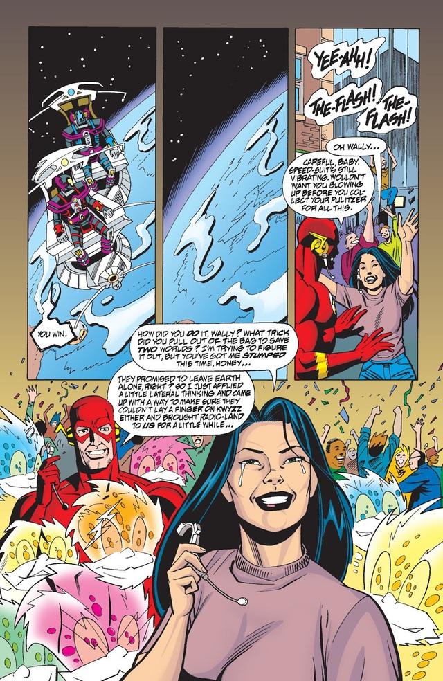Có thể bạn chưa biết: Sonic chính là BẠN THÂN của siêu anh hùng The Flash trong vũ trụ DC - Ảnh 5.