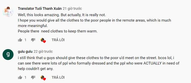 Mua cả cửa hàng quần áo tặng người Việt, Pewpew và Nas Daily nhận cơn mưa chỉ trích: Dàn dựng kịch bản, sai ý nghĩa... - Ảnh 7.