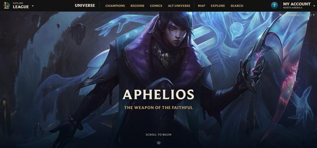 Lindis bên Liên Quân Mobile là nguồn cảm hứng để Riot tạo ra Aphelios cho LMHT? - Ảnh 1.