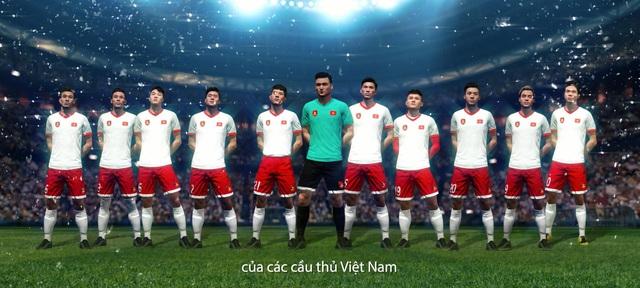 Đội hình tuyển Việt Nam xuất hiện trong trailer bom tấn, EA Sports phá lệ buff cực khủng cho Quang Hải, Công Phượng... - Ảnh 4.