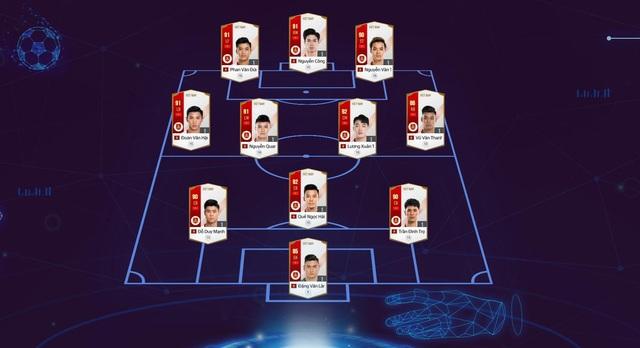 Đội hình tuyển Việt Nam xuất hiện trong trailer bom tấn, EA Sports phá lệ buff cực khủng cho Quang Hải, Công Phượng... - Ảnh 6.
