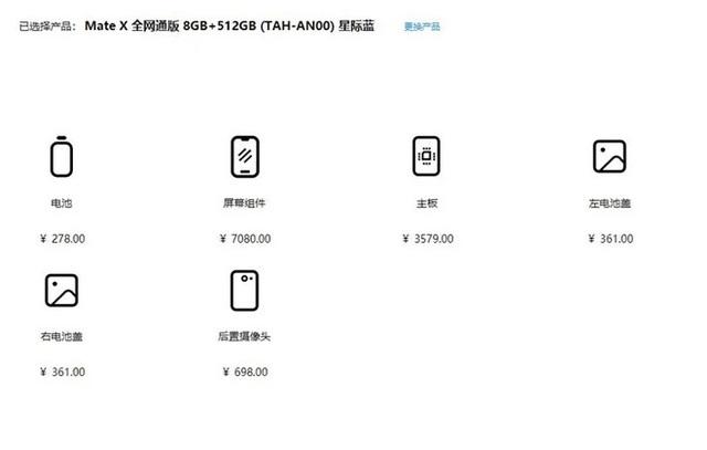 Giá thay màn hình Huawei Mate X đắt bằng mua 1 chiếc iPhone 11 Pro mới tinh - Ảnh 2.