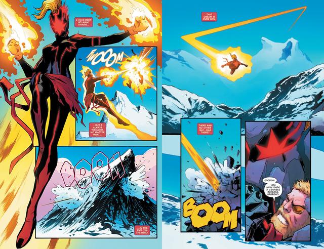 Tin sốc: Captain Marvel hắc ám vừa... vặt đầu của thần Thor? - Ảnh 6.