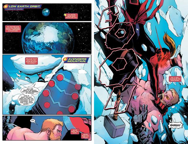 Tin sốc: Captain Marvel hắc ám vừa... vặt đầu của thần Thor? - Ảnh 5.
