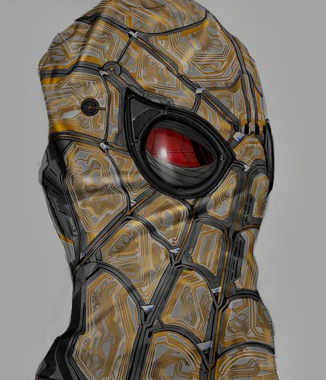 Hóa ra đây là thiết kế bên trong chiếc mặt nạ của Spider-Man, khá là cool ngầu - Ảnh 2.